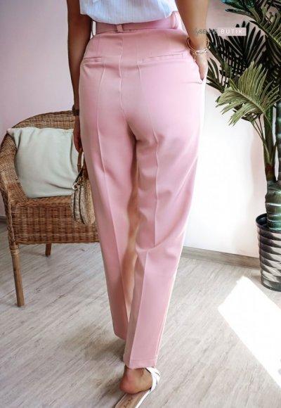 Spodnie TULIP brudny róż 3