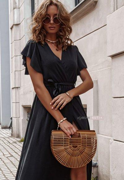 Sukienka ARIANA czarna