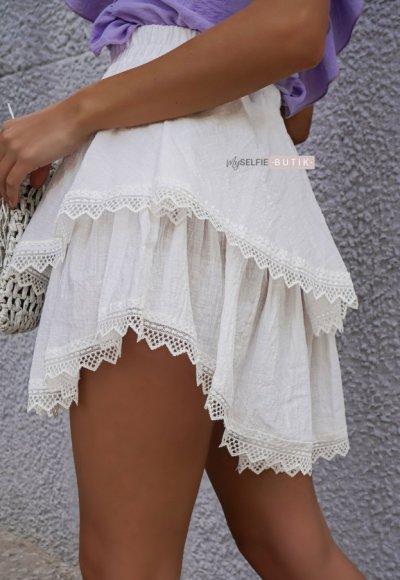 Spódnica BLANKA biała