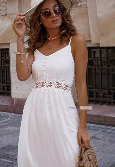 Sukienka MOLLY biała