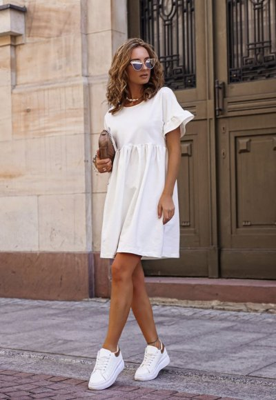 Sukienka ROMA ecru