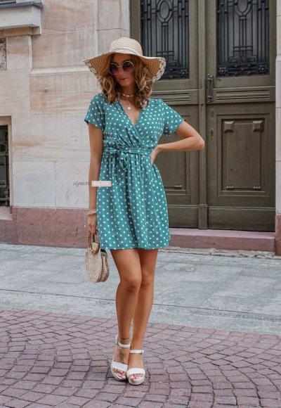 Sukienka DOTY mint 2