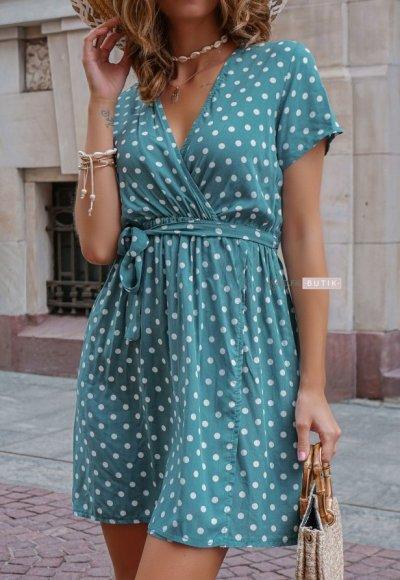 Sukienka DOTY mint 1