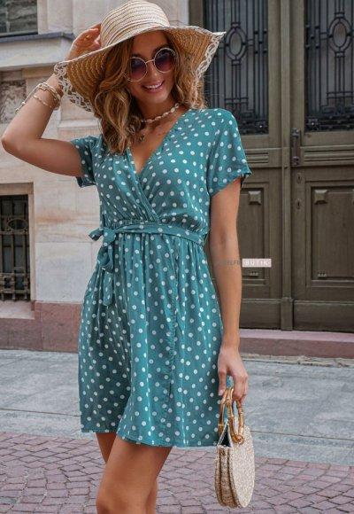 Sukienka DOTY mint 3
