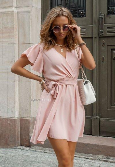 Sukienka SANTORINI różowa