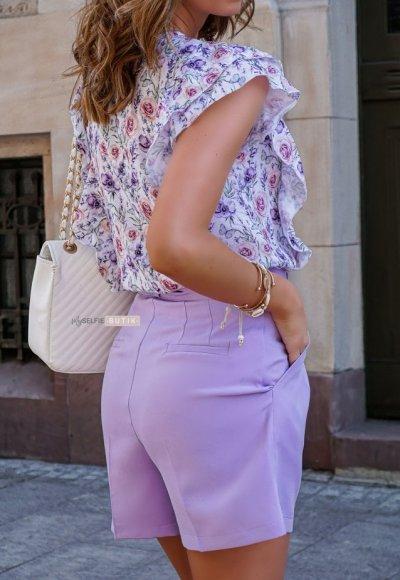 Szorty MILTY lilac 2
