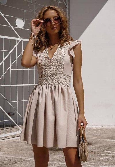 Sukienka NEVADA beige 2