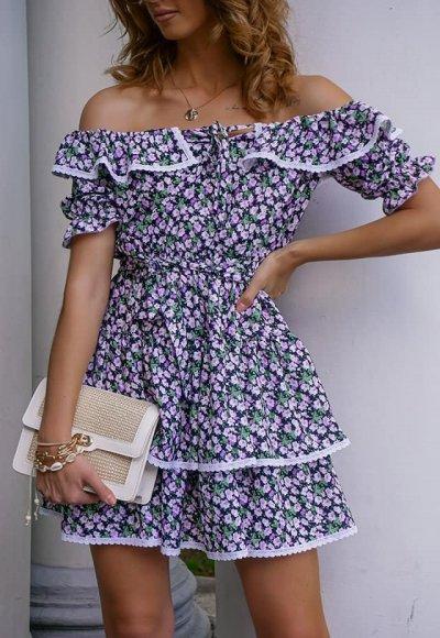 Sukienka ISABELLA w kwiatowy print
