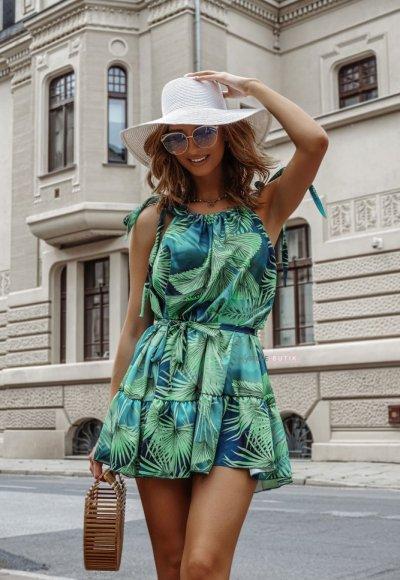 Sukienka SAFARI tropic