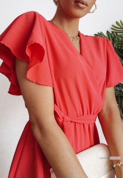 Sukienka SANTORINI coral 4