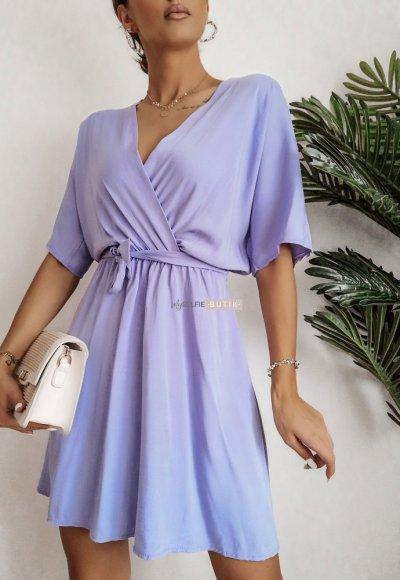 Sukienka SIMPLY fiolet