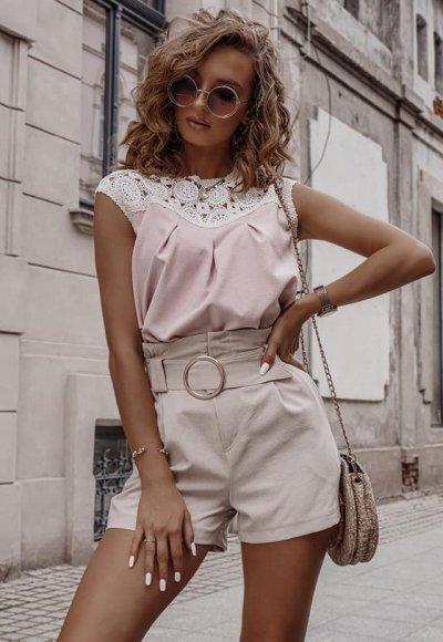 Bluzka CLASSIC różowa