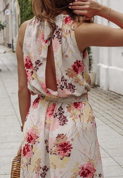 Sukienka AGNES flowers 2