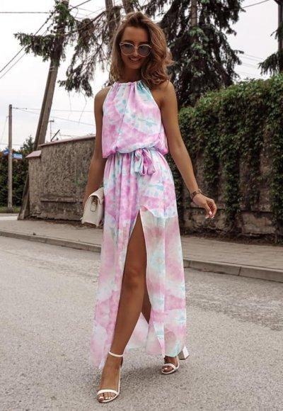 Sukienka LORE multicolor