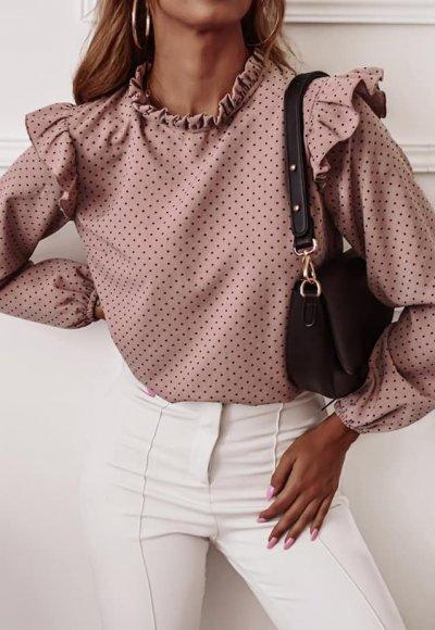 Koszula NESTOR różowa