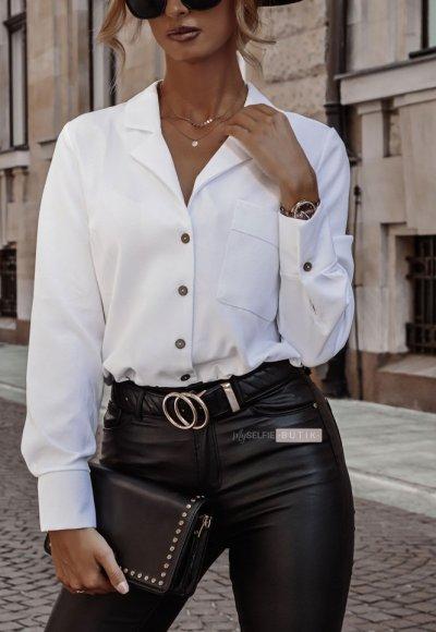 Spodnie ILLINOIS woskowane czarne 4