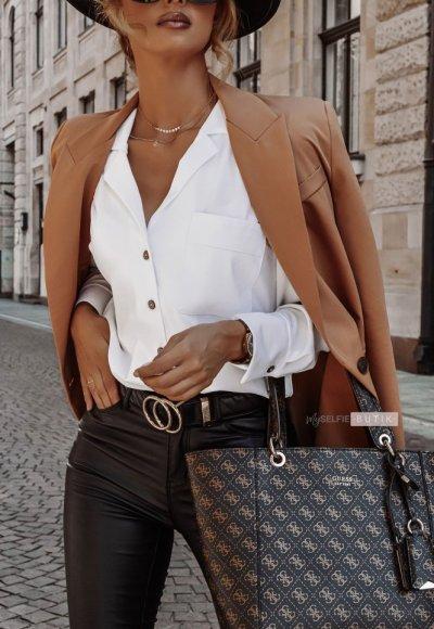 Spodnie ILLINOIS woskowane czarne 5