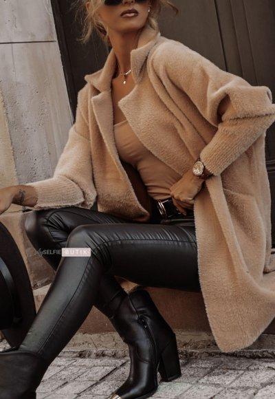 Płaszcz ALPAKA camel
