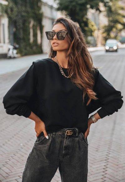 Bluza YOU czarna