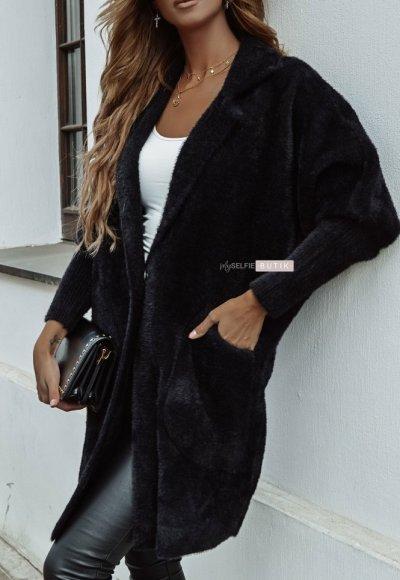 Płaszcz ALPAKA czarny 1