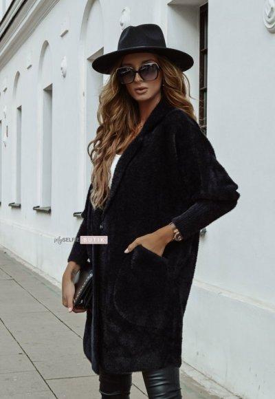 Płaszcz ALPAKA czarny 3