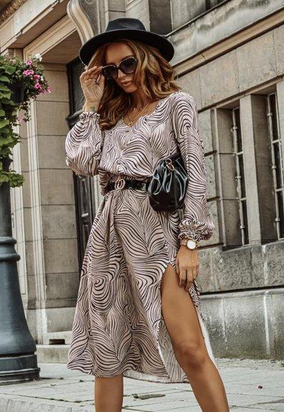 Sukienka CINAMOON we wzory