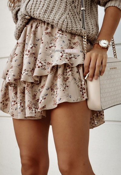 Spódnica CREO w kwiatowy print