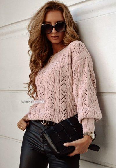 Sweter PAROS różowy