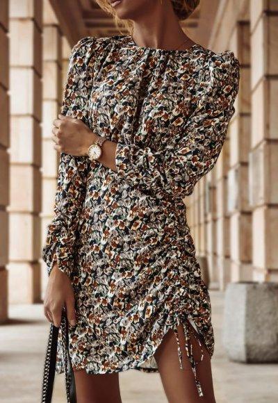Sukienka KATYA w kwiatowy wzór