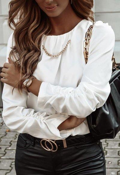 Bluzka MARGARET biała