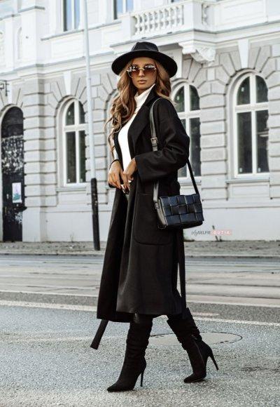 Płaszcz BASMATI czarny