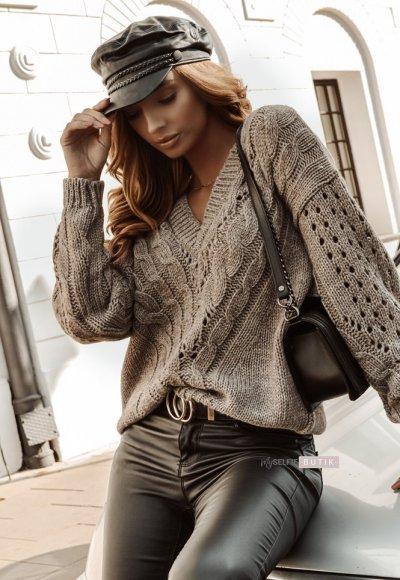 Sweter ETNA mocca
