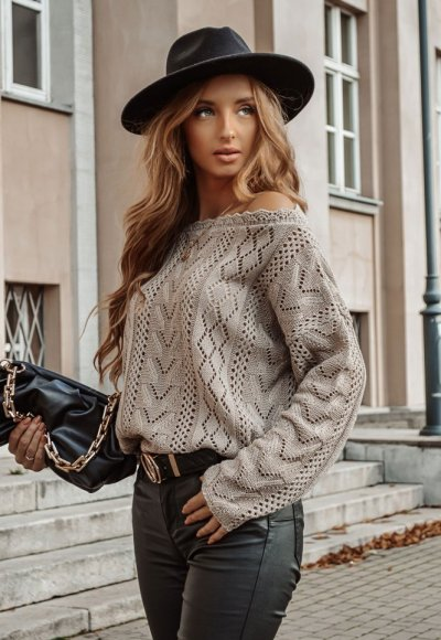Sweter EMPIRE mocca