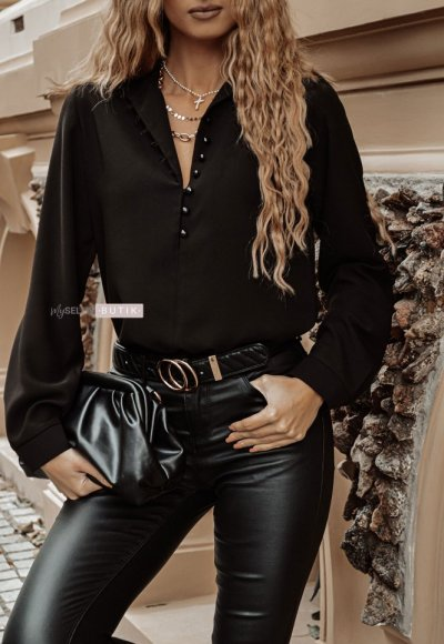 Bluzka LA VIE czarna