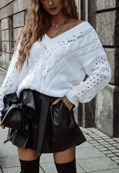 Sweter ETNA biały