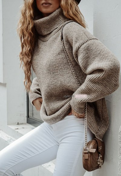 Sweter METRO mocca