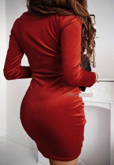 Sukienka SHINE czerwona 1