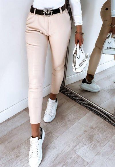 Spodnie VERSAL light beige
