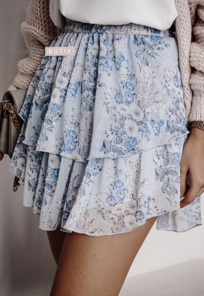 Błękitna spódnica GLORY