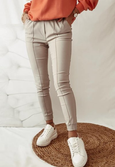 Beżowe spodnie CARLO