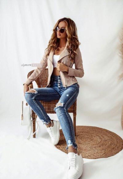 Jeansowe spodnie VERI