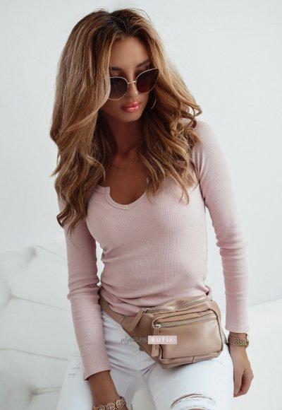 Różowa bluzka MOOD