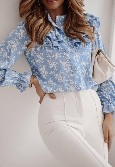 Koszula MILU light blue