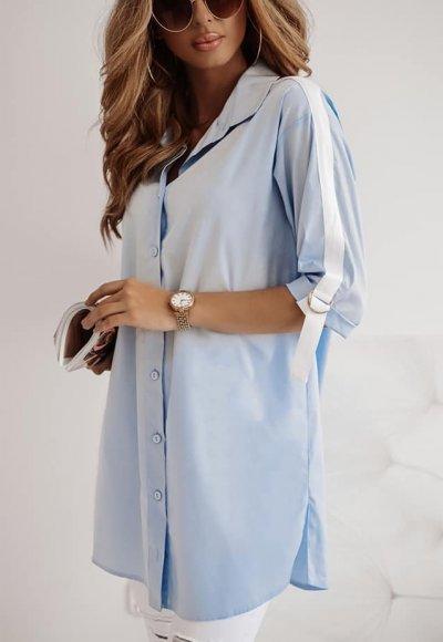 Koszula PALERMO błękitna