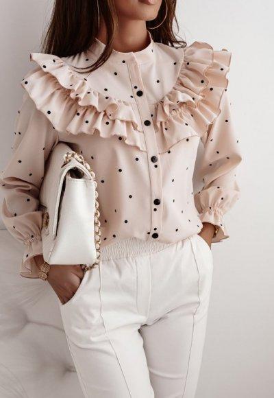 Koszula ANA light pink