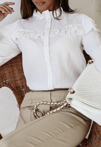 Koszula GAIA white