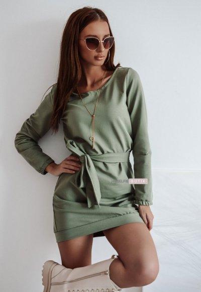 Sukienka DOVER oliwkowa