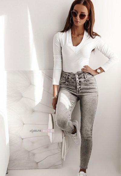 Jeansowe spodnie REDI