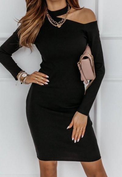 Sukienka NAKED ARM czarna