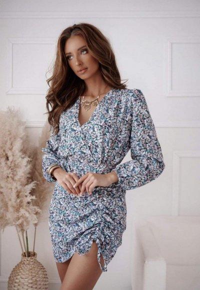Sukienka LEMON w kwiatowy wzór